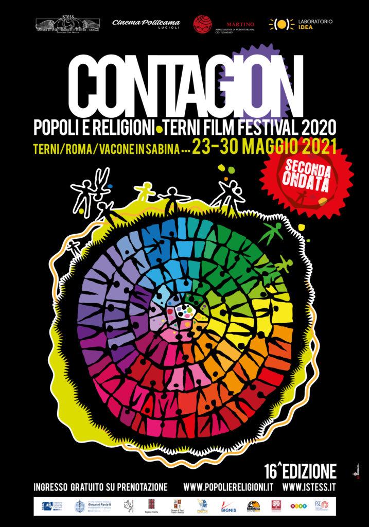 contagion poster stampa nero 717x1024