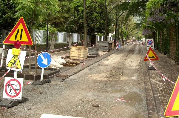 cantiere strada
