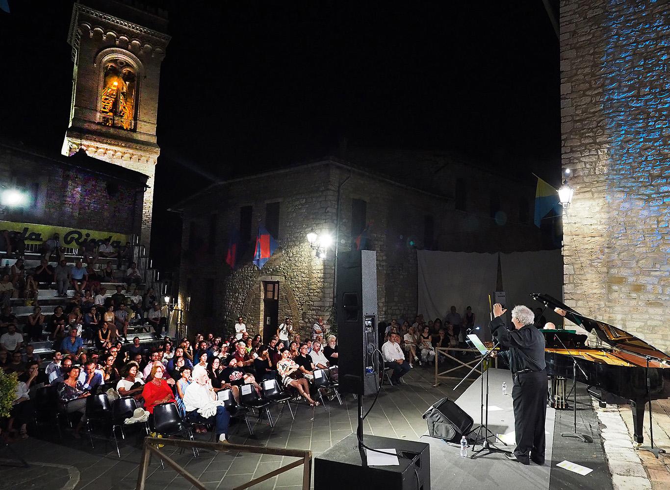 Corciano Festival: mercoledì 8 agosto ancora teatro, musica e <b>arte</b>. Continua la sezione letteraria ...