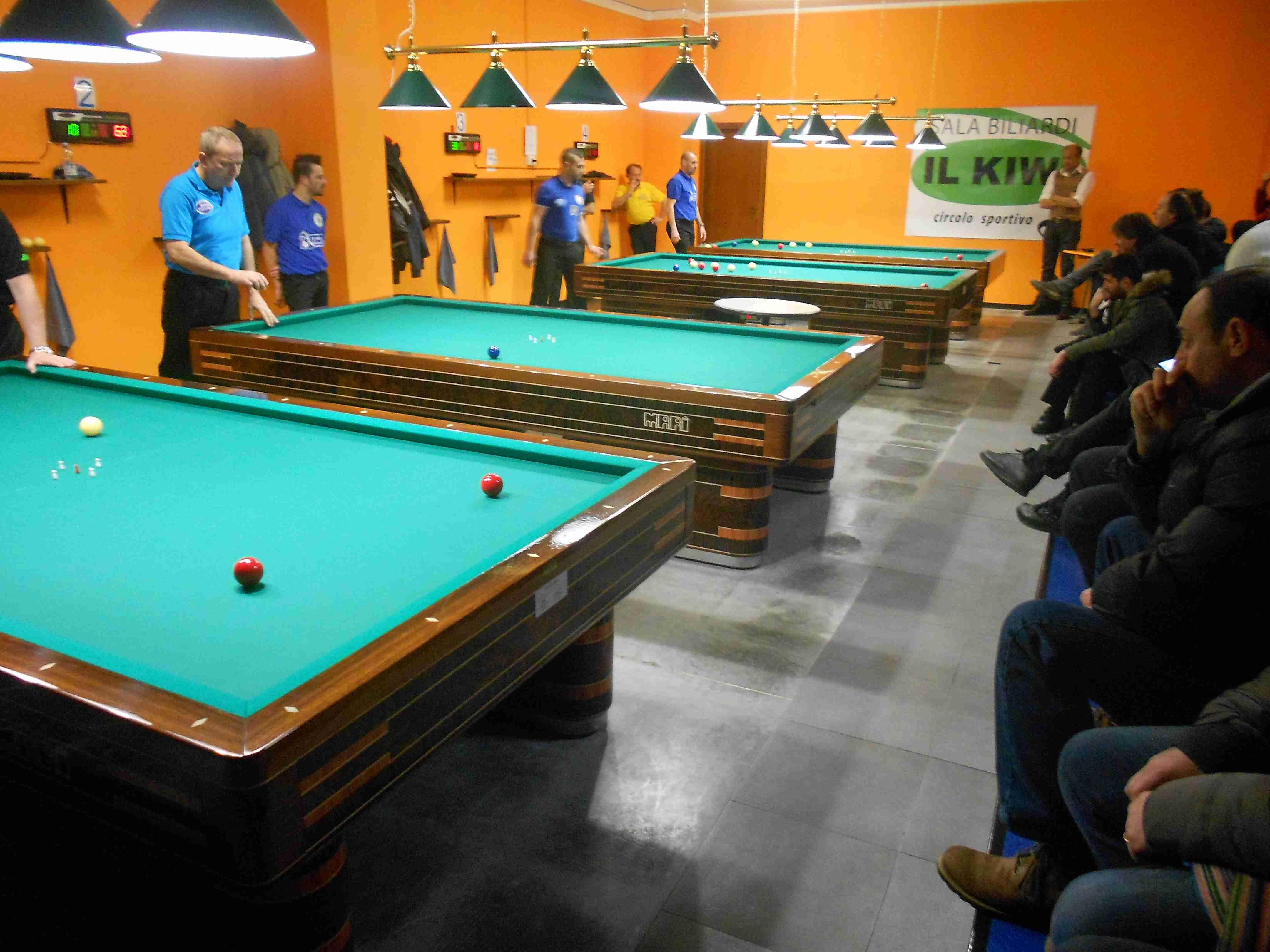 Sala Da Biliardo In Inglese : Biliardo. il circolo sportivo il kiwi di via pievaiola sarà u201cmaxi