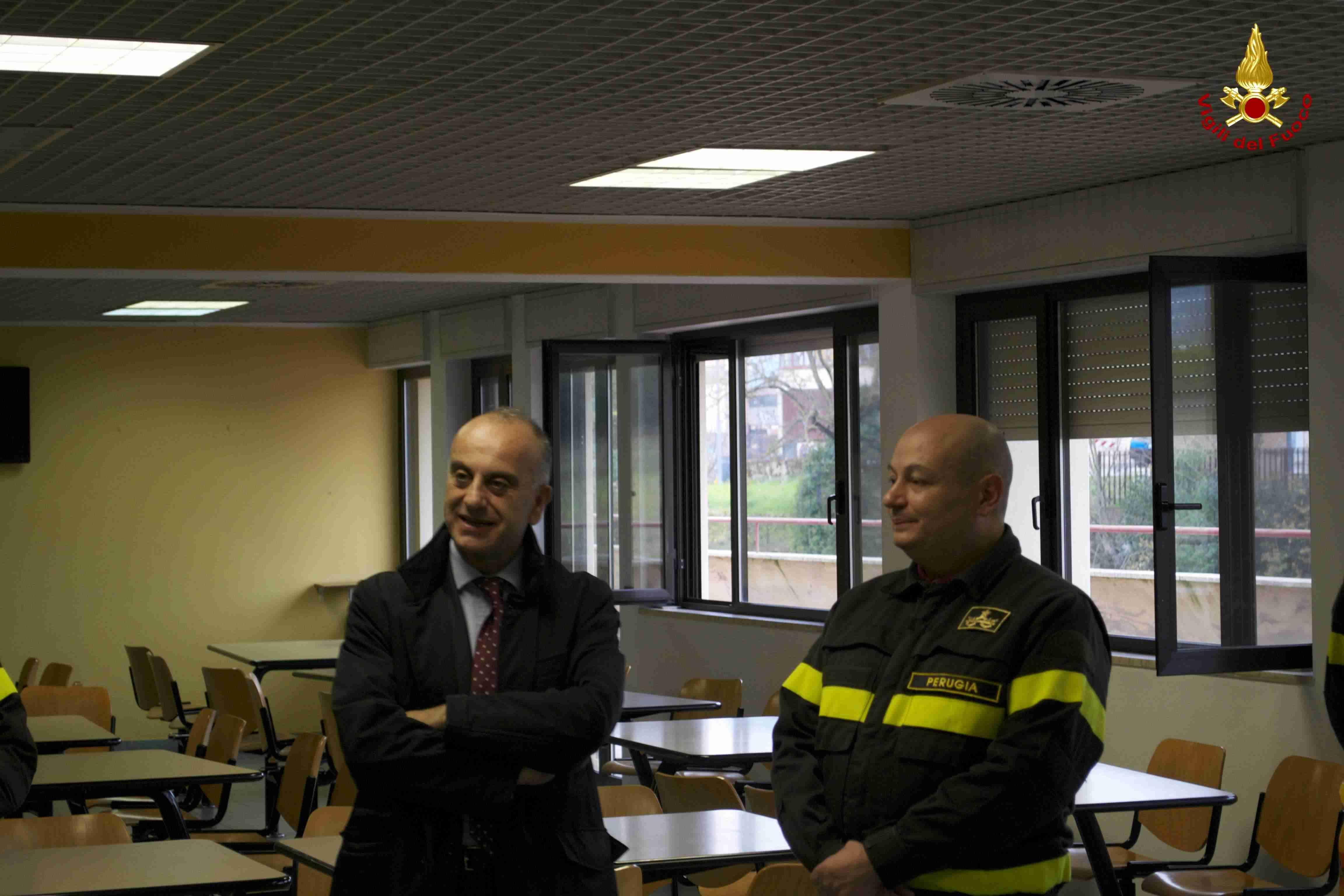 Perugia visita del sottosegretario ministero dell 39 interno for I ministero interno