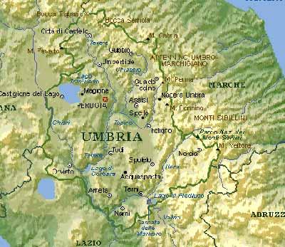 Cartina Toscana E Umbria Dettagliata.Carta Geologica Unitaria Per Umbria Toscana Marche Ed Emilia Romagna Rinnovato Per Cinque Anni Il Protocollo D Intesa Umbria Notizie Web