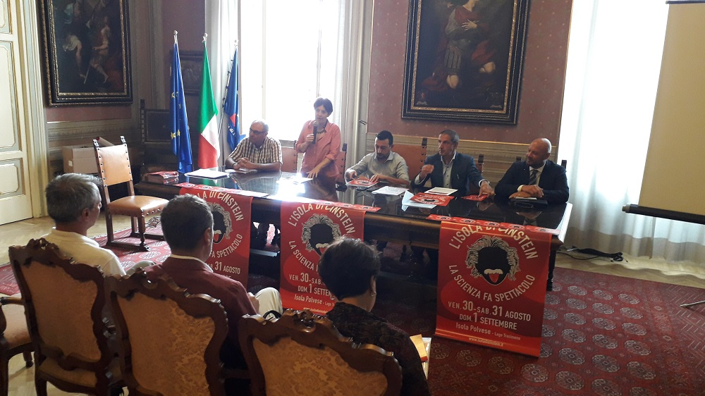 Isola di Einstein conferenza 1
