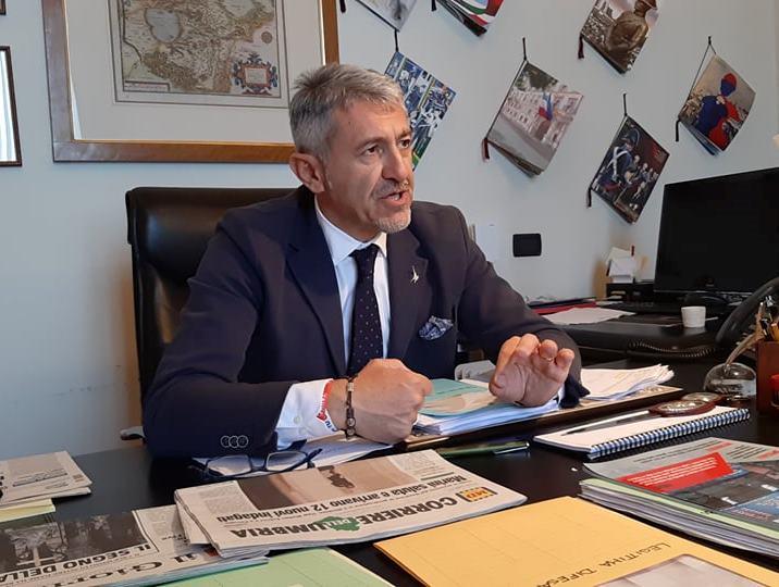 Valerio Mancini Lega Umbria