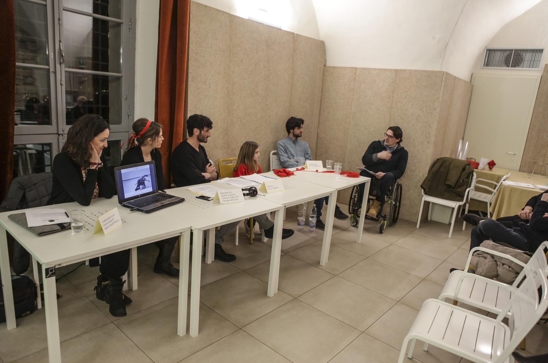 Presentata presso umbrò di perugia la nuova associazione u201cdance for