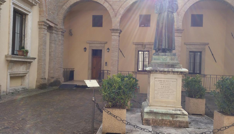 Inaugurato ad assisi il giardino dei giusti umbria - Il giardino dei ciliegi assisi ...