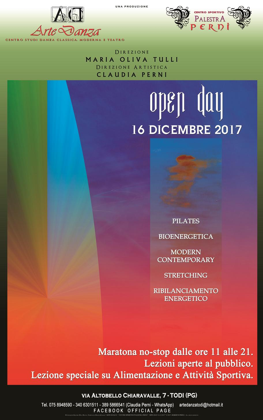 OPEN DAY 16.12.2017